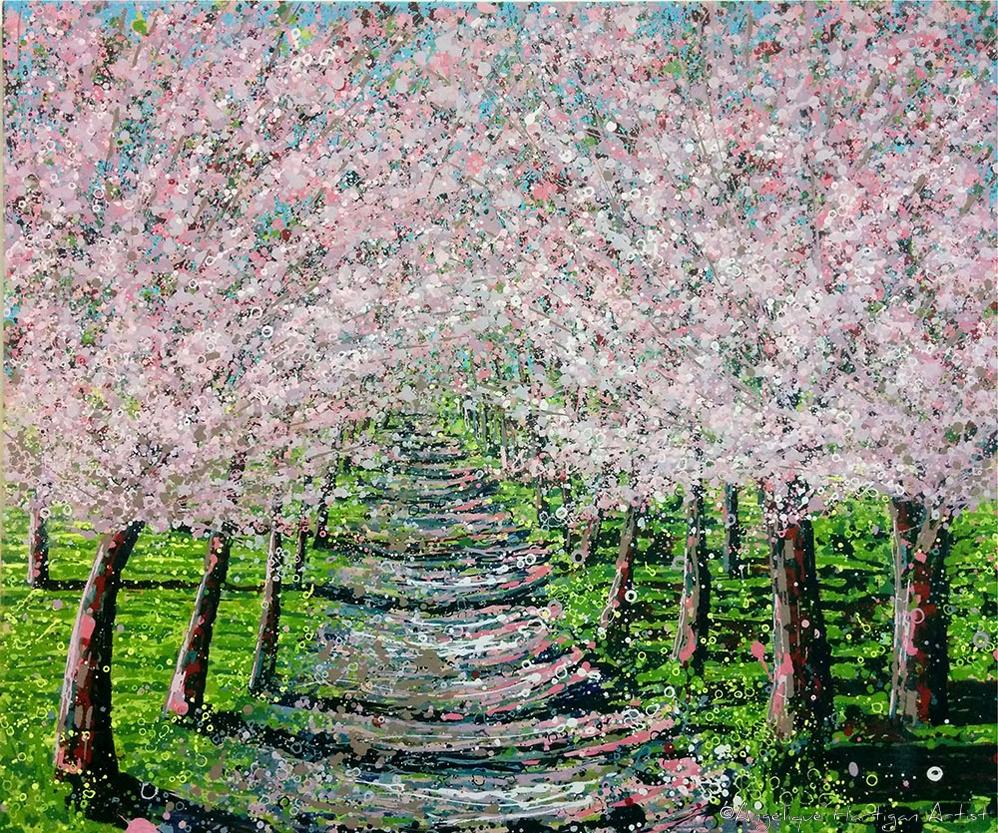 Angelique-Hartigan-Pink-Cherry-Blossom-Tree-Avenue