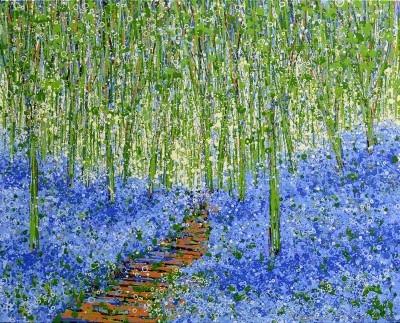 Bluebells In Spring VII