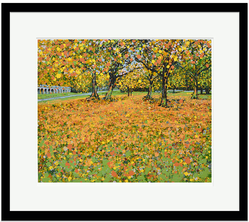 Signed limited edition giclee print autumn leaves crystal signed limited edition giclee print autumn leaves crystal palace park jeuxipadfo Gallery