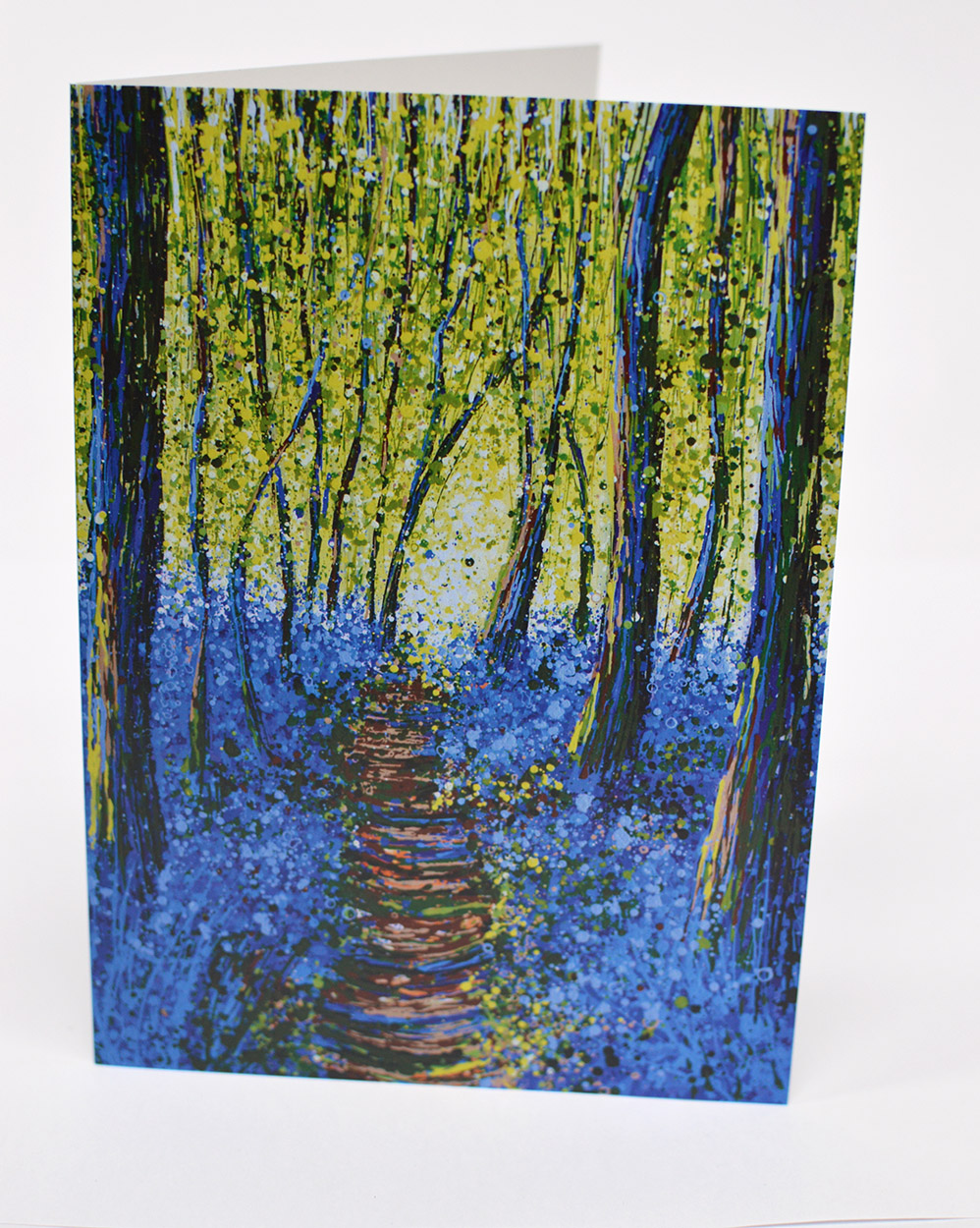 Greetings Cards Bluebells I Front