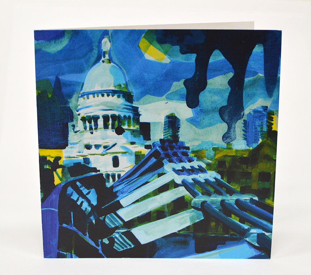 Greetings-Cards-St-Pauls-Cathedral-from-the-Millennium-Bridge-Front