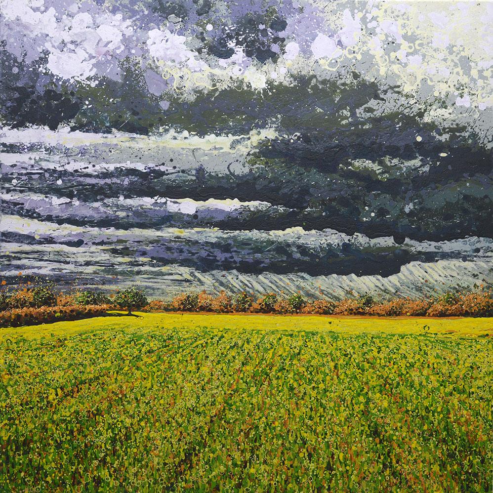 Bruised Sky Over Chigborough Fields I