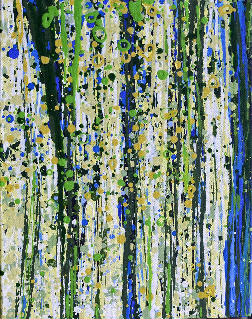 Angelique Hartigan Spring Bluebells VIiii