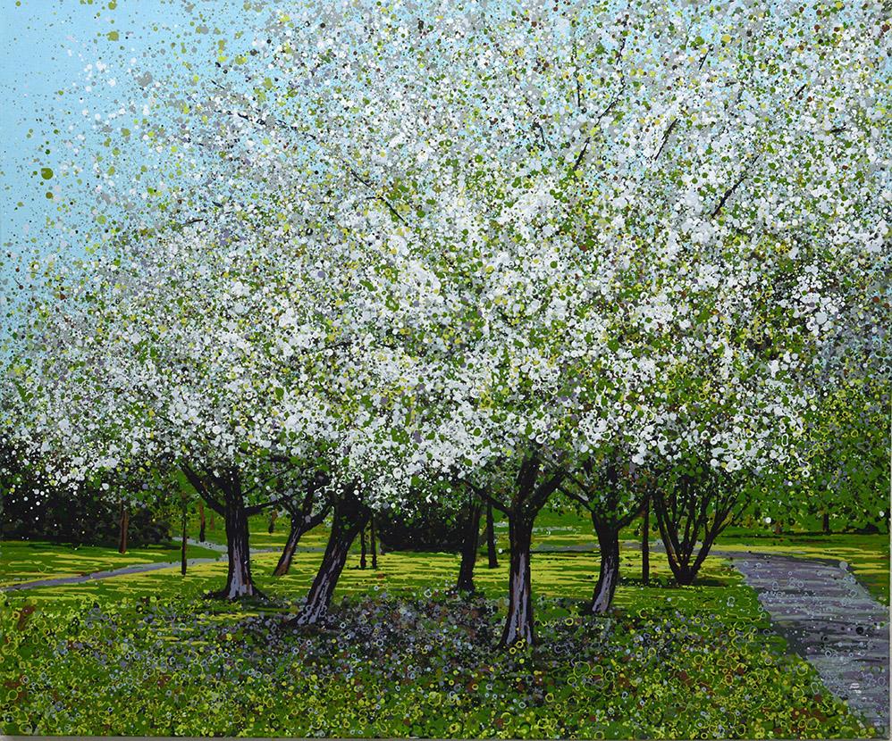Angelique Hartigan Blossom in the Park