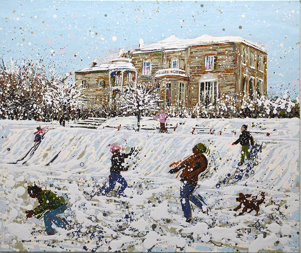 Angelique Hartigan Snow Day Brockwell Park
