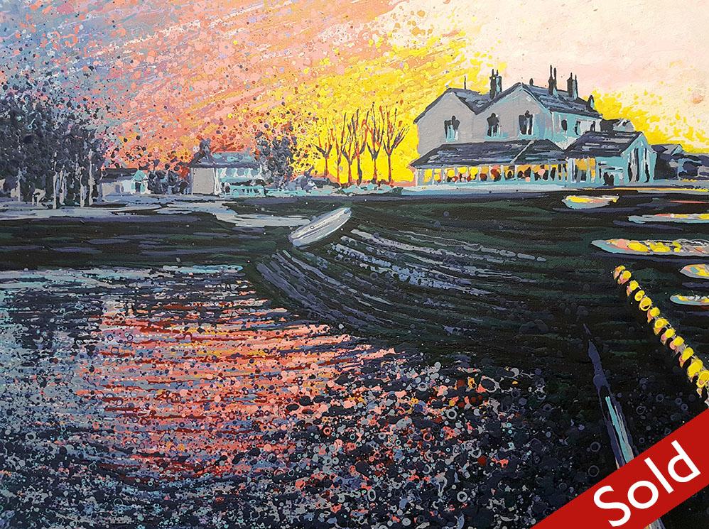 Sunset, Heybridge Basin - SOLD
