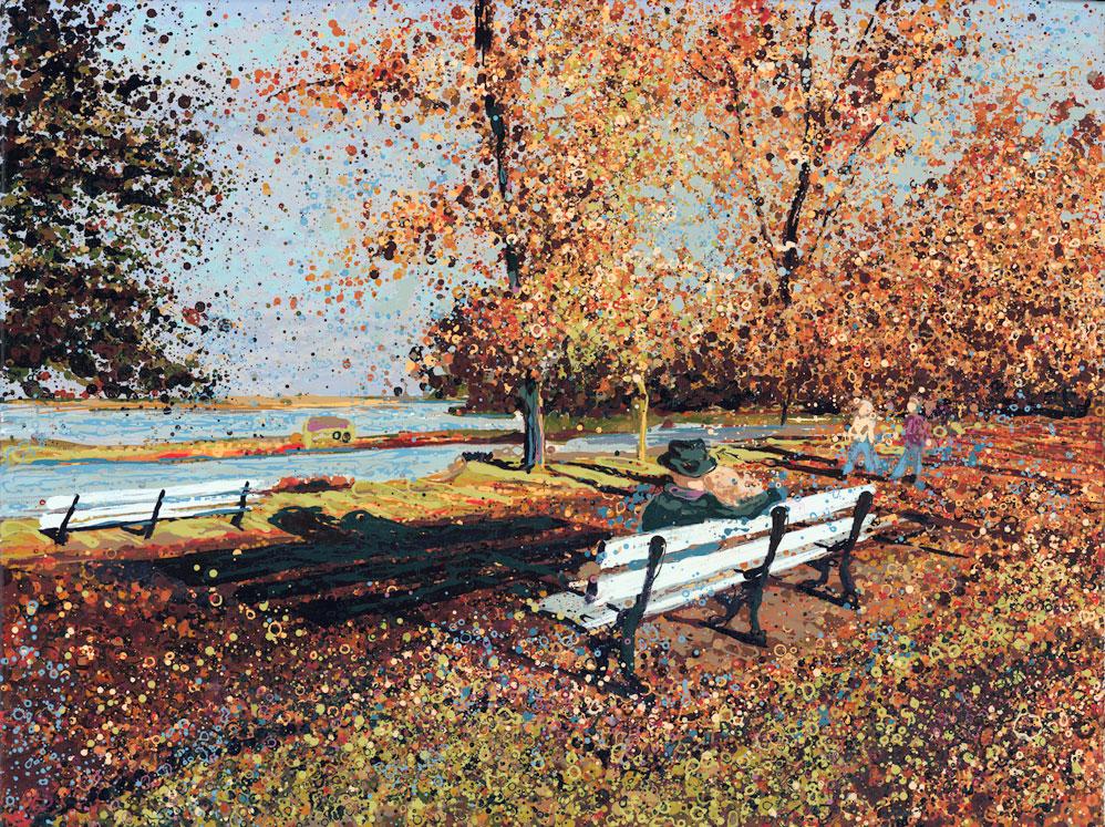 Autumn In Promenade Park Maldon