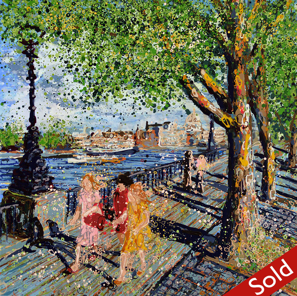 Summer on the South Bank - SOLD