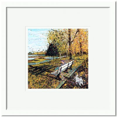 Open Edition – Signed and Numbered Small Collectors Print – Reminiscing, Promenade Park, Maldon