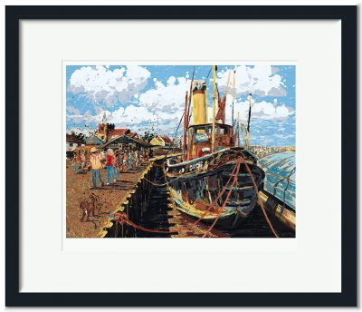 "Open Edition – Signed and Numbered Small Collectors Print – Steam Tug ""Brent"", Maldon"