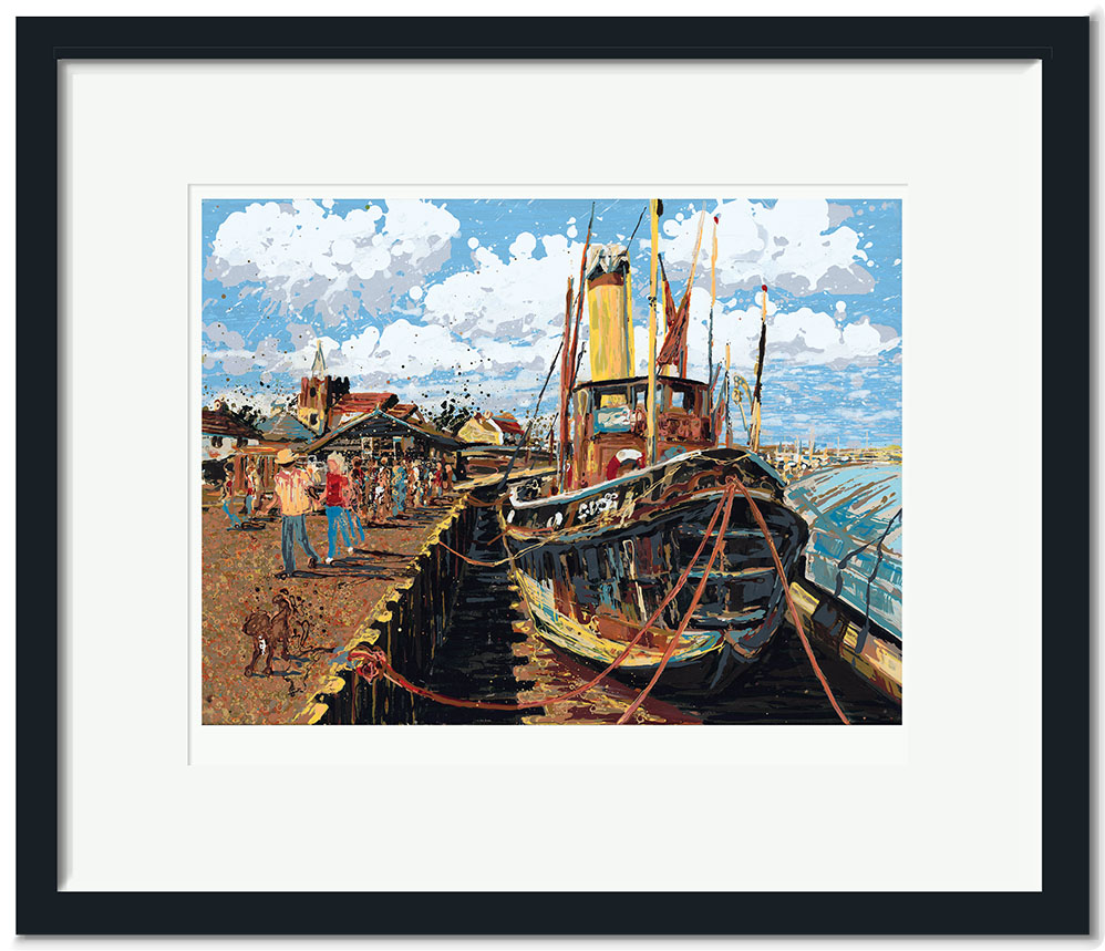 Buy open edition signed and numbered small collectors open edition signed and numbered small collectors print steam tug brent jeuxipadfo Gallery