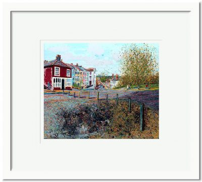 Open Edition – Signed and Numbered Small Collectors Print – Towards the Old Workhouse, Market Hill, Maldon